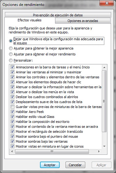 Acelera al maximo Windows 7