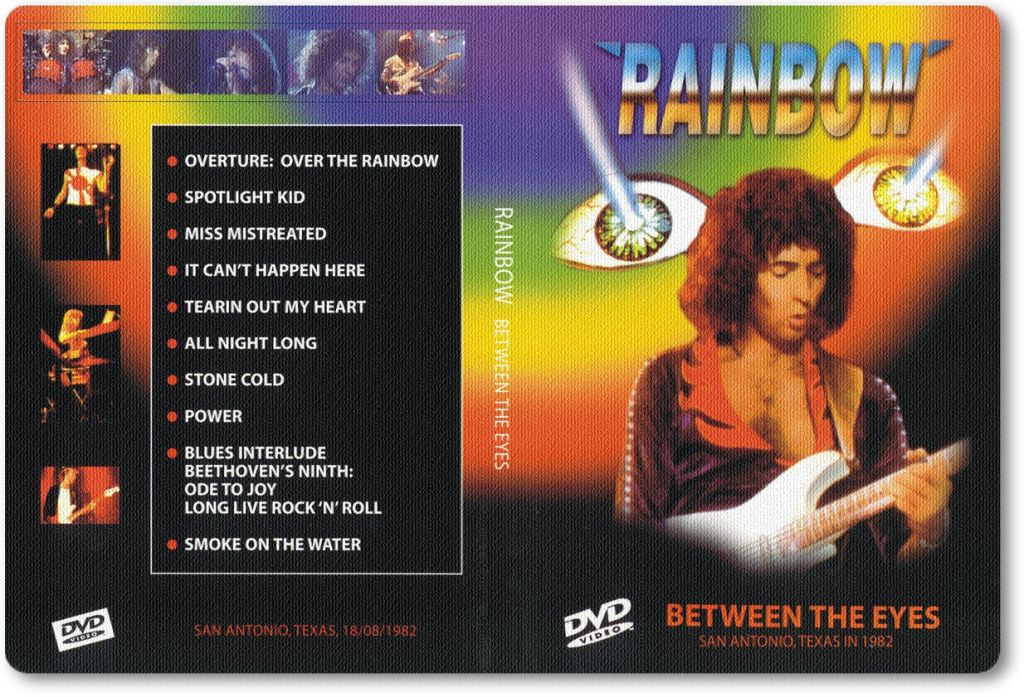 Resultado de imagen de Rainbow - Live Between the Eyes San Antonio 1982 Full Concert!!