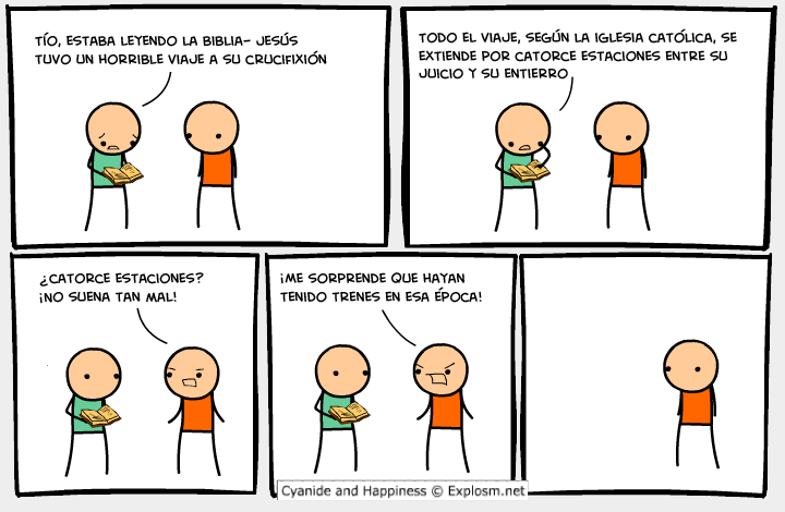 Cyanide and Happiness (humor acido) 4